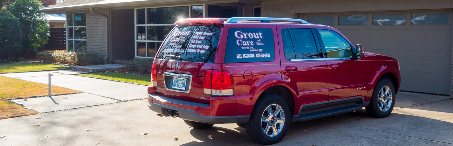 Grout Care Of Tulsa Service Vehicle