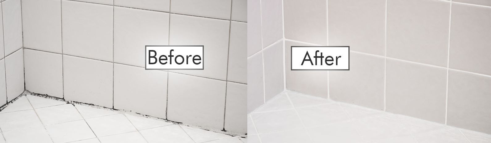 Before and After of Cleaning Tile and Grout